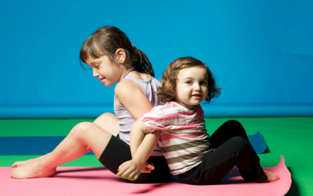 Yoga για παιδιά στην Ευρωστία